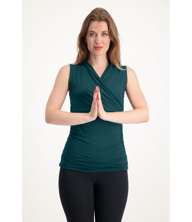 Urban Goddess Yoga Top Good Karma - Pine