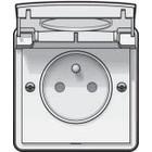 Waterbestendige stopcontacten Wit