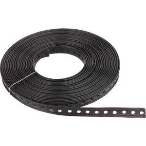 Geplastificeerde montageband - 19 x 1mm x 10meter - Ø6,4mm