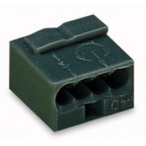 Wago micro verbindingsklem 3 x 0.6 -0.8mm (100 stuks)