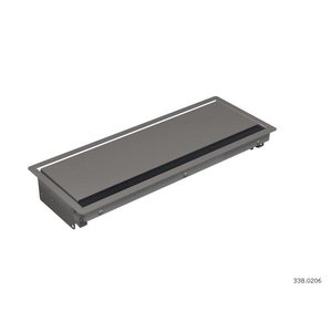 Bachmann Coni anthracite Inbouwframe, lang 3380206