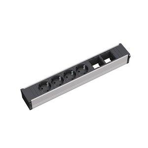 Bachmann Coni power blok, 4 x stopcontact, 2 x leeg
