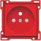 Niko afwerkingsset, rood, inbouwdiepte 28,5mm 199-66606