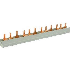 FTG Kamgeleider/aansluitrail 2 polig met pennen 56 modules - 10mm