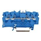 Wago rijgklem 4 verbindingen, 0.25 - 4mm, blauw