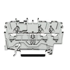 Wago rijgklem TOPJOB 3 verbindingen, 0.25 - 4mm, grijs