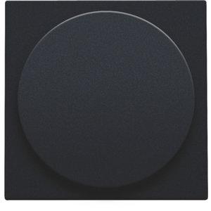 Niko Centraalplaat universele dimmer Zwart 161-31003