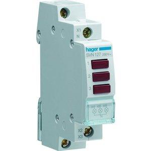 Hager 3-Fase LED indicator