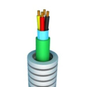 Flexibele buis met EIB kabel 2x2x0.8 - 100m