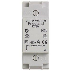 friedland Deurbel transfo 8V -1A