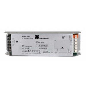 Uni-Bright 220V RF Push Dimbare Driver-100W