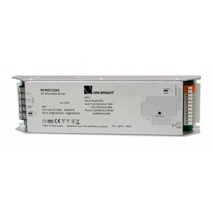Uni-Bright 220V RF Push Dimbare Driver-200W