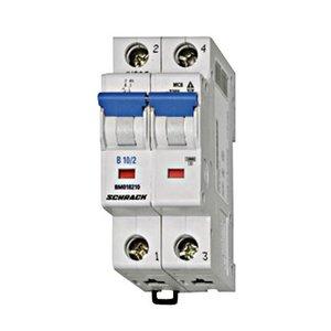 Schrack Automaat 2P - 10A - 4.5kA - curve C