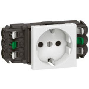 Legrand DLP Schuko stopcontact enkel, wit