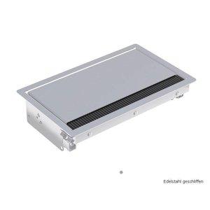 Bachmann Coni zilver Inbouwframe, lang 3380081 - kort