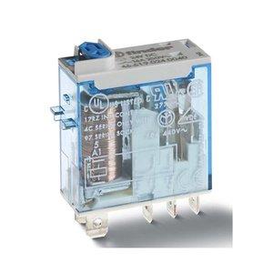 Finder Relais zonder voet spoel 24VDC contact 16A-220V- 1NO