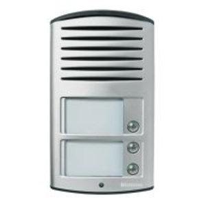 Deurstation audio Linea 2000 - 2-draads - aluminium - met 3 oproepknoppen