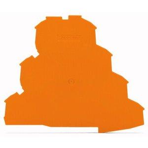 Wago Afsluit -en tussenplaatje 2002-4192, oranje