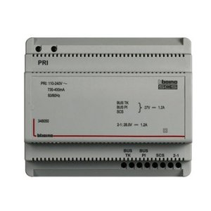 Bticino Voeding 2-draads 6 DIN - 1200 mA