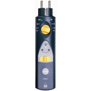 Catu Stopcontact Differentieelbeveiligings Tester - 10, 30, 300mA  (verhuur) €5/per dag, €240 borg.