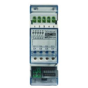 Bticino Actuator (modulair)  met 4 onafhankelijke relais - 2 modules DIN