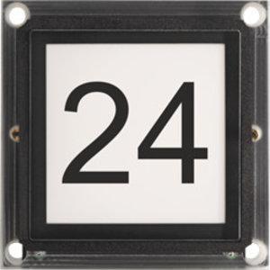 Niko Huisnummer voor modulaire buitenpos