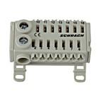 Schrack Easy Connection Box zwart/ wit 2x25mm²+ 14x4mm²