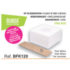 Bubox ReserveringsKit + Nivelleringsplaat   BFK120