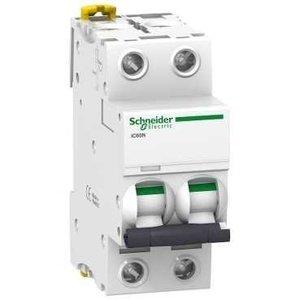 Schneider  Automaat iC60N 2P 20A D