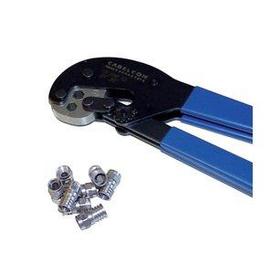 Hirschmann Krimptang voor type F krimpconnectoren