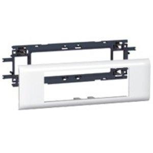 Legrand DLP houder en afdekplaat wit, 6 modules (deksel 65mm)