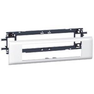 Legrand DLP houder en afdekplaat wit, 8 modules (deksel 65mm)