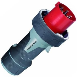 Mennekes Industrieel stopcontact  63A 5P 6H 400V rood IP67