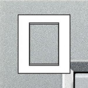 Bticino LivingLight - Afdekplaat 3+3 modules Tech LNA4826TE