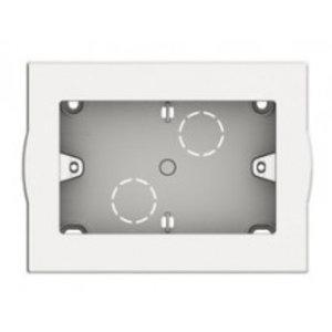 Bticino LivingLight - Opbouwdoos 3 modules wit - 503BI