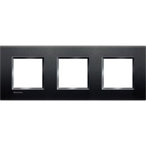 Bticino LivingLight -Afdekplaat 3x2 modules 71mm Antraciet  - LNA4802M3AR