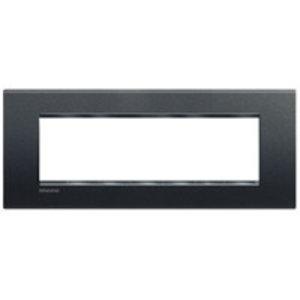 Bticino LivingLight - Afdekplaat 7 modules Antraciet - LNA4807AR