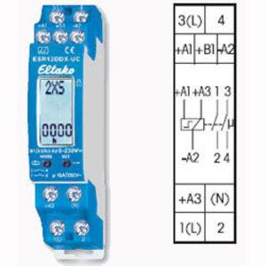 Eltako Impulsschakelaar 1+1 NO contact,ESR12DDX-UC