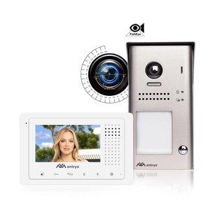 Entrya Facila K191135 video intercomkit met groothoeklens