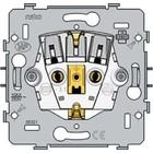 Niko Stopcontact met insteekklemen, zonder aarding 22mm - 170-31300