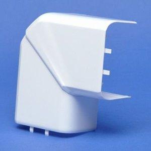 Legrand Variabele platte hoek voor DLP design 35 x 80 mm en 50 x 80 mm - wit