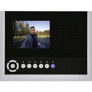 Niko Luxueuze handsfree videobinnenpost Zwart 10-572