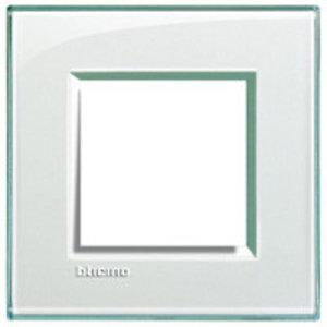 Bticino Afdekplaat enkelvoudig LL kristall - LND4802KR