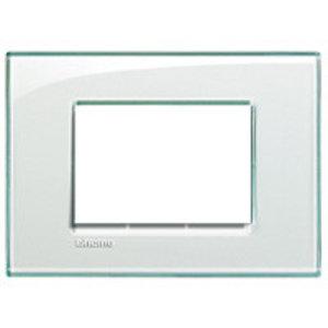 Bticino Afdekplaat 3 mod. Kristall - LND4803KR