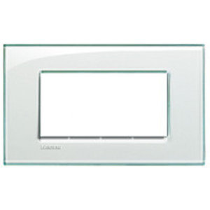 Bticino  Afdekplaat 4 mod. Kristall - LND4804KR