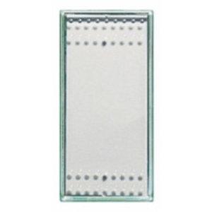 Bticino Toets schakelaar/drukknop 1 Mod. Kristall - N4932