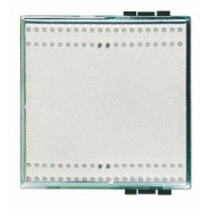 Bticino Toets schakelaar/drukknop 2 Mod. Kristall -N4932/2