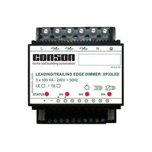Conson Drie-kanaalsdimmer 3 x 100 VA - XP33LED