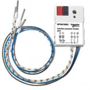 Schneider  KNX Drukknopinterface 2-voudig Plus Wit - MTN670802