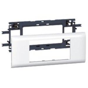 Legrand DLP (85mm) houder en afdekplaat wit, 4 modules